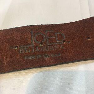"joed j urbina Accessories - JOED J. Urbina Studded Leather Belt 32-36"" Size"